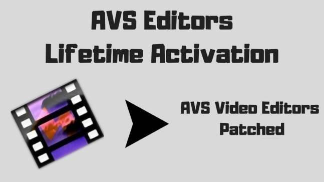 AVS Video Editor Crack Full Keygen