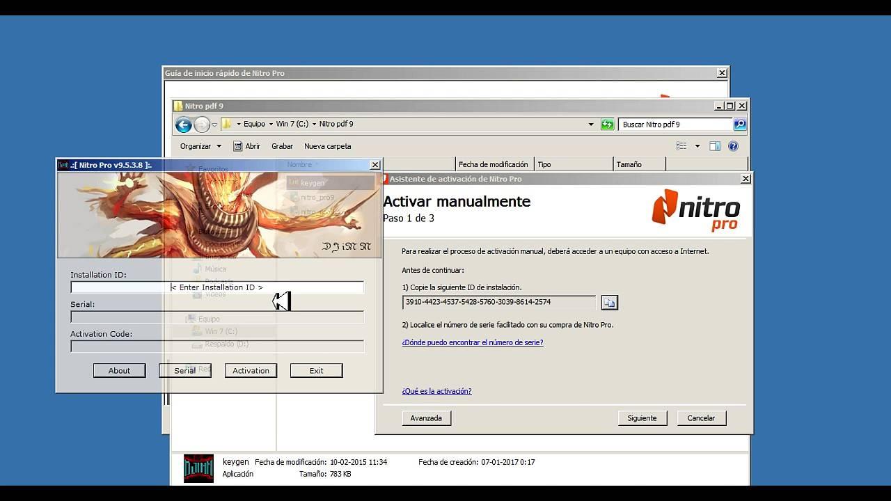 Nitro PDF Pro 2020 license key