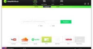 KeepVid Music 8.2.4 Crack + Registration Key Full Download