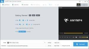 AnyMP4 Video Converter Ultimate 8.1.16 + Crack - StartCrack