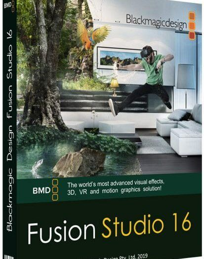 Blackmagic Design Fusion Studio 16.1 Build 18 Full Crack + Key Free