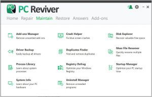 ReviverSoft PC Reviver 3.10.2.8 + License Key [ Latest ] - StartCrack