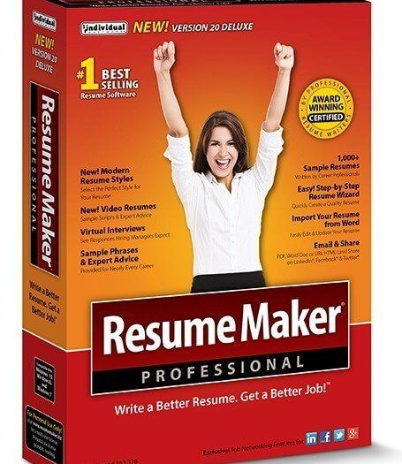 ResumeMaker Professional Deluxe 20.1.3.171 With Crack [Latest]
