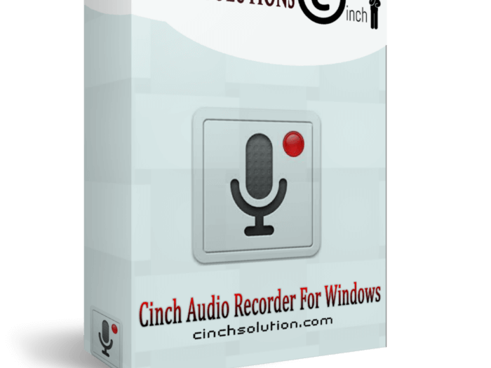 PC Software CCinch Audio Recorder 4.0.2 Serial KeyCode Full Crack 2021 Download